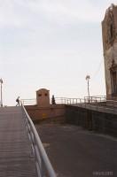 Woman in Hijab on Boardwalk (2010)
