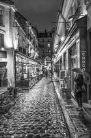 Bastille Day-Rainy Night in Paris