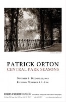 Patrick Orton-Central Park Seasons, Nov 8-Dec 22, 2012
