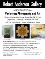 Oppening reception Friday, September 14, 2018 from 5 to 9 pm