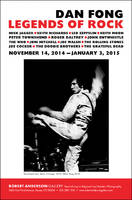 Legends of Rock by Dan Fong at the Robert Anderson Gallery 11/14/2014-1/3/2015