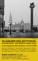 Summer Selections Show, Opening Friday,  June 12, 2015
