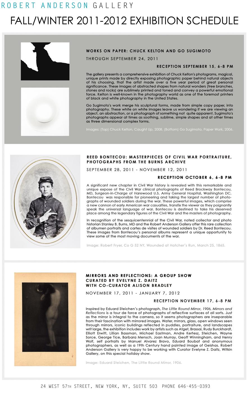 Exhibitions, photo