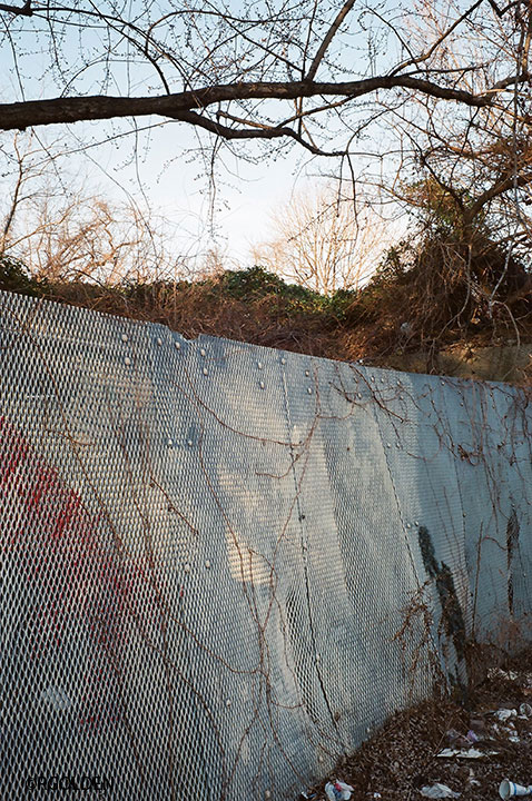 Sagging Chain Link Fence (2012)