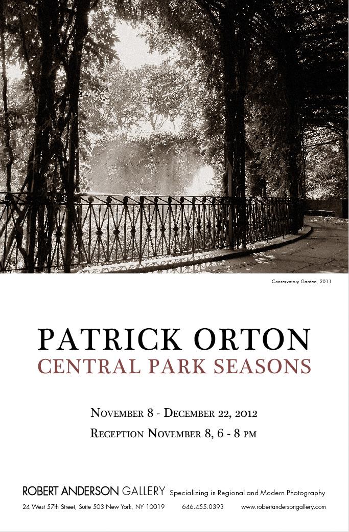 Central Park Seasons-Patrick Orton